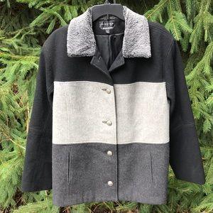 Braetan 3 Color Lama Wool Walking Coat